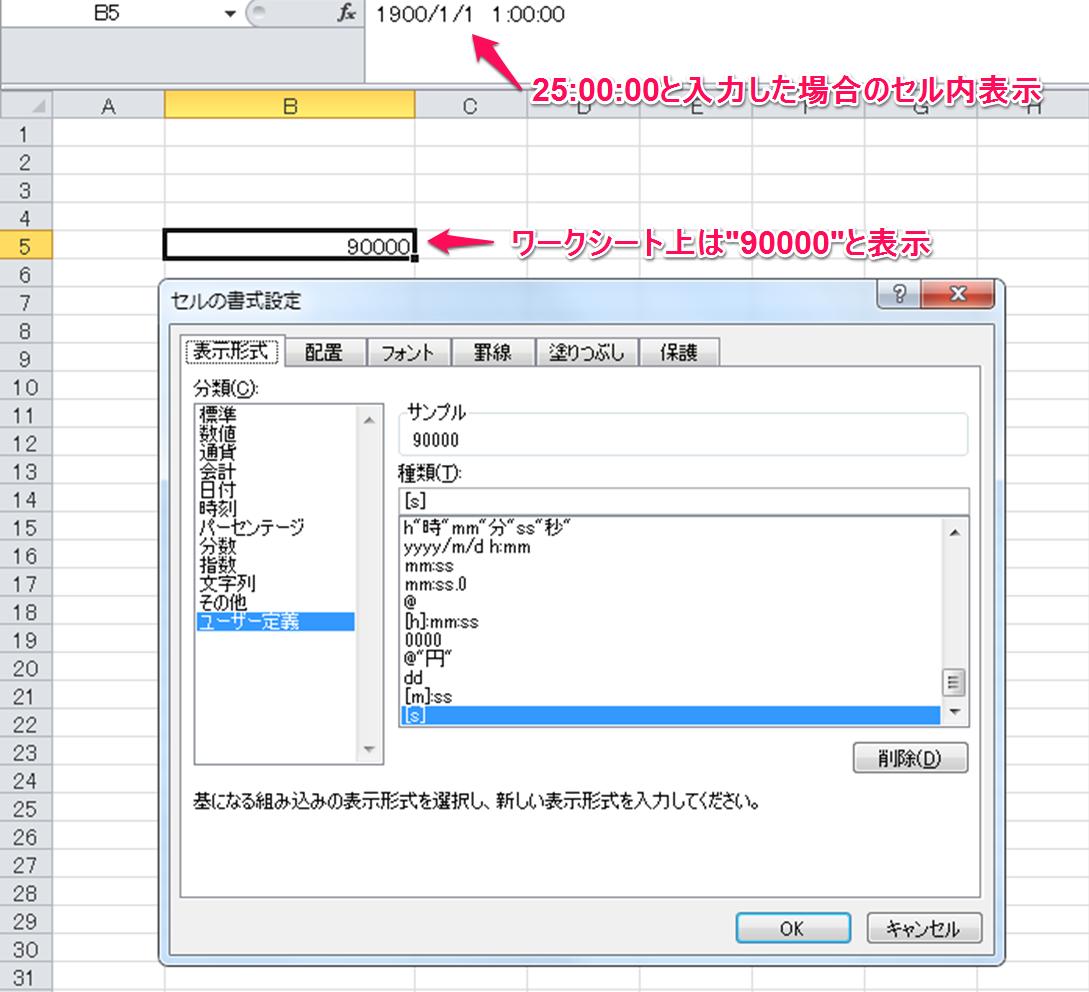 ユーザー定義[s]