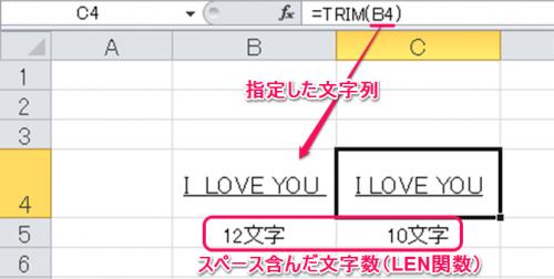 TRIM関数③