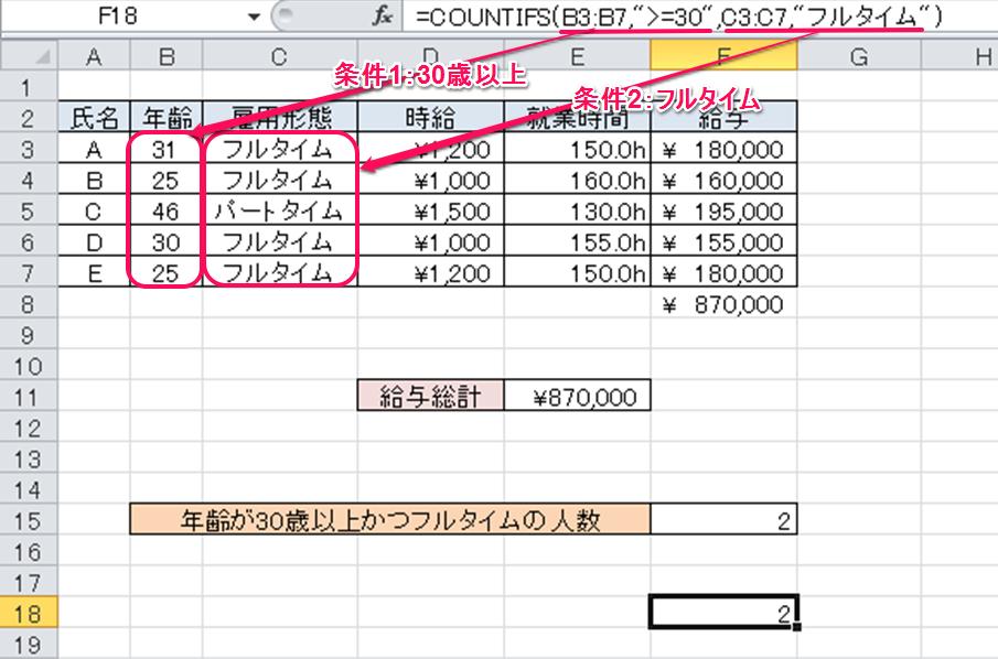 SUMPRODUCT関数で複数条件をカウントする方法 | Excelを制する者は ...