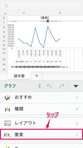 グラフ軸設定①