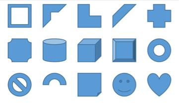 【iPhone/iPadアプリ】「Microsoft Excel」ワークシート上に図形を挿入する