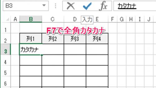 表ショートカットキー②