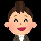 Aさん(女性・笑顔)